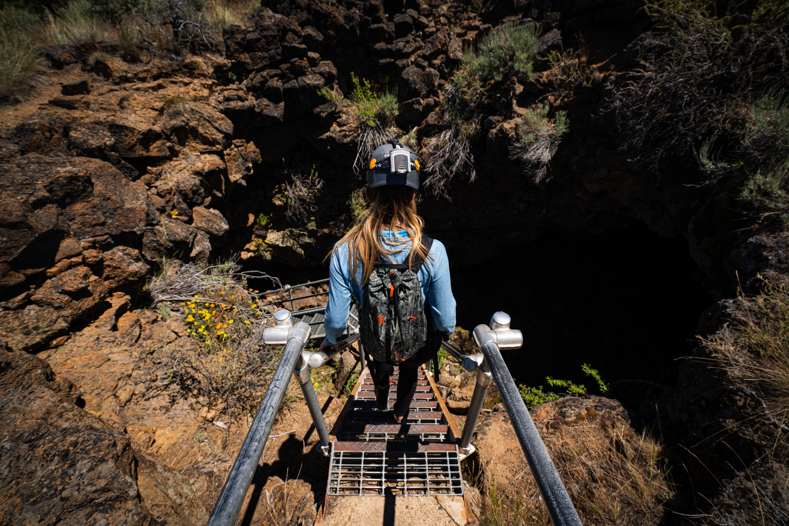 Discover Siskiyou Podcast featuring: Caving at Lava Beds National Monument - Tulelake, CA