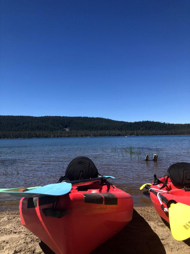 Medicine Lake kayaks, Siskiyou