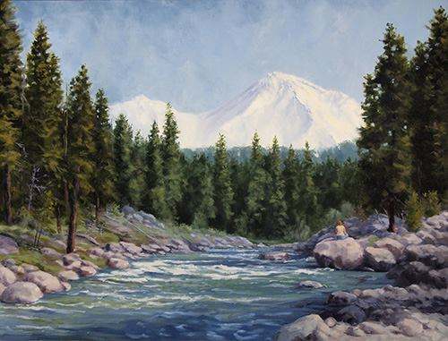 Snow Creek Studios - A Chris Messer Gallery - Discover Siskiyou
