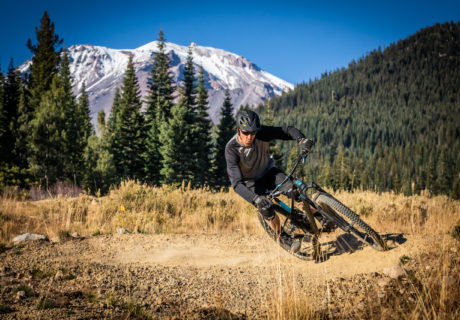 Mt. Shasta Mountain Bike Park, mountain vista, trail