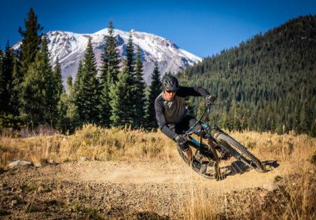 Mt. Shasta Mountain Bike Park, mountain vista, trail