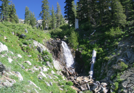 east boulder creek falls hike mt shasta siskiyou