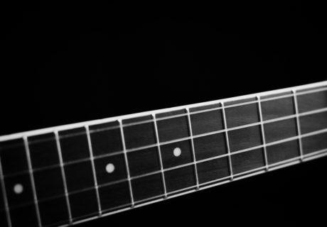Guitar Neck Close Up, Siskiyou Live Music