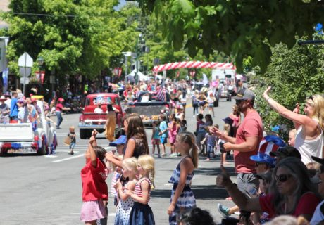 4th of July Parade, Mt. Shasta