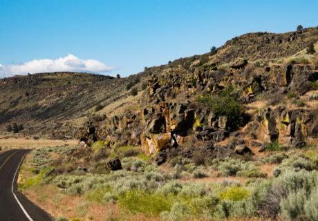East Siskiyou County, Lava Beds National Monument
