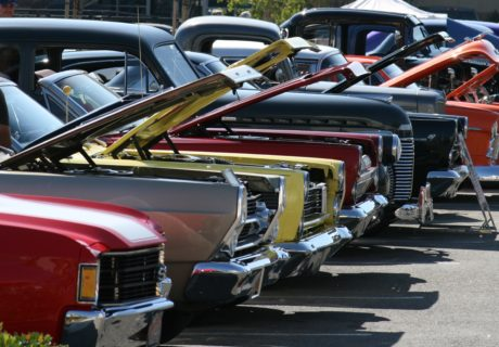 Car and Truck Show, Siskiyou, Montague
