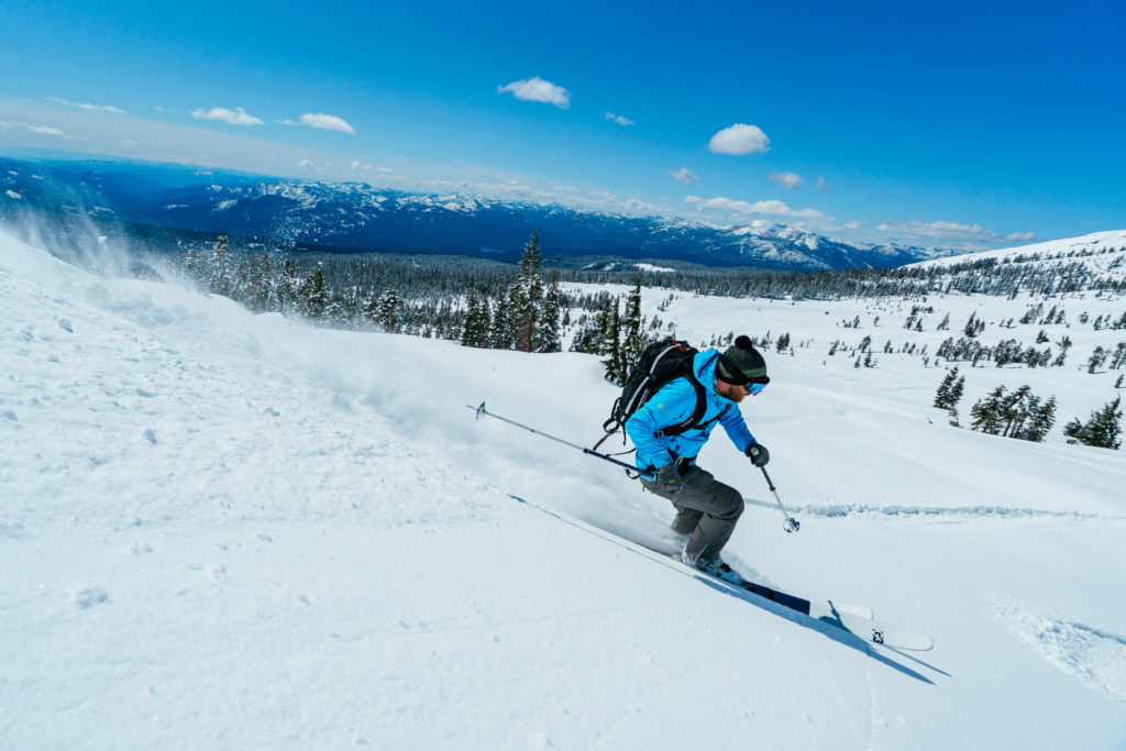 Skiing on Mt. Shasta