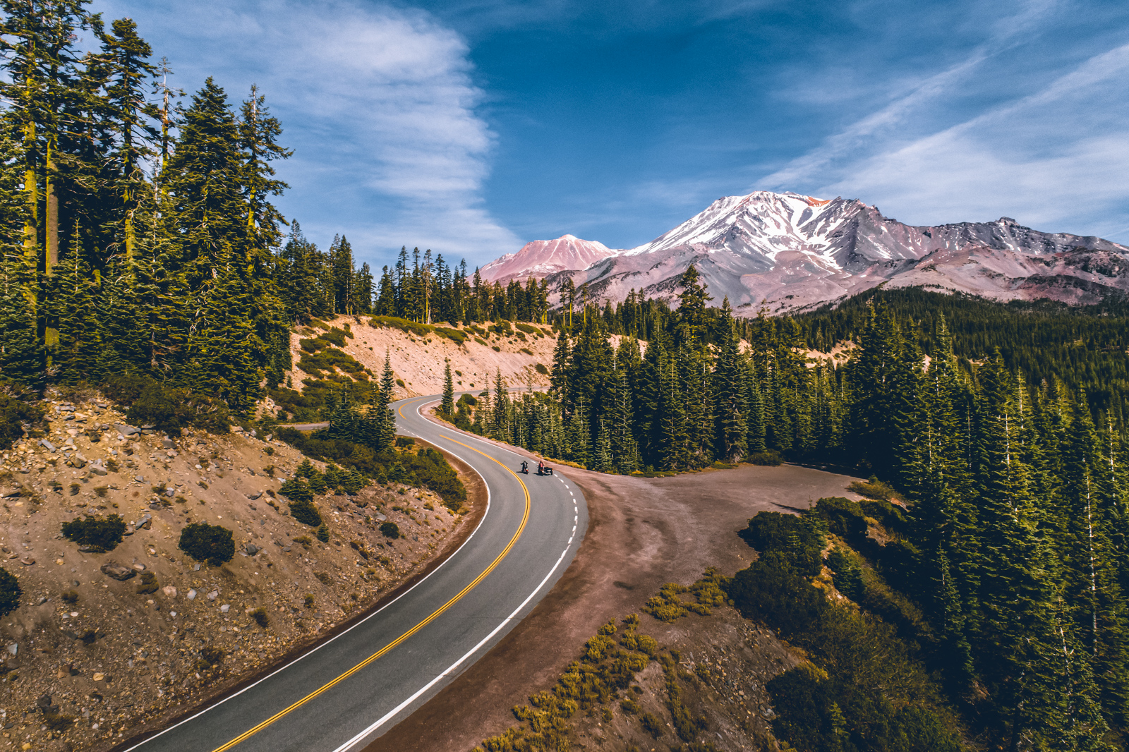 Discover Siskiyou Podcast featuring: Driving up Everett Memorial Highway - Mt. Shasta, CA Landscape